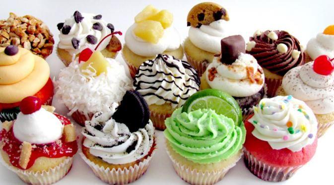Desain-desain cupcake berikut dapat membuat gemas.