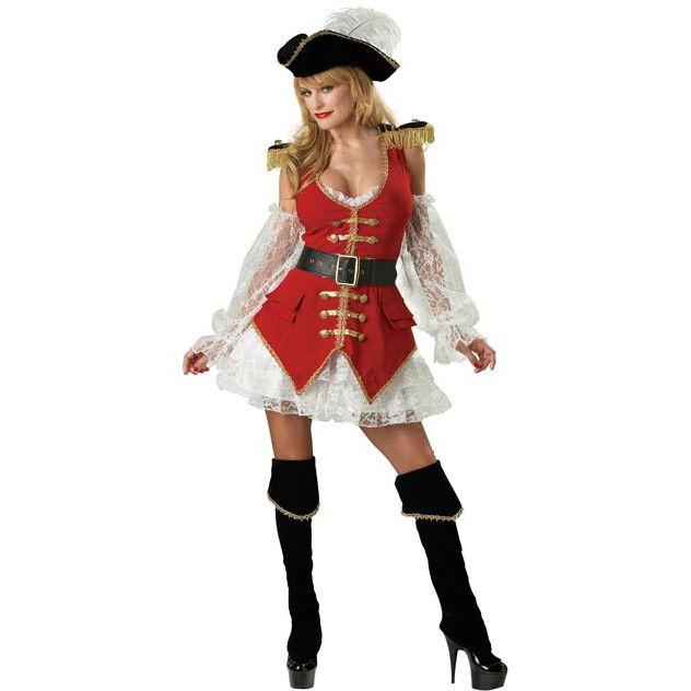 Adult Sexy Treasure Pirate Costume