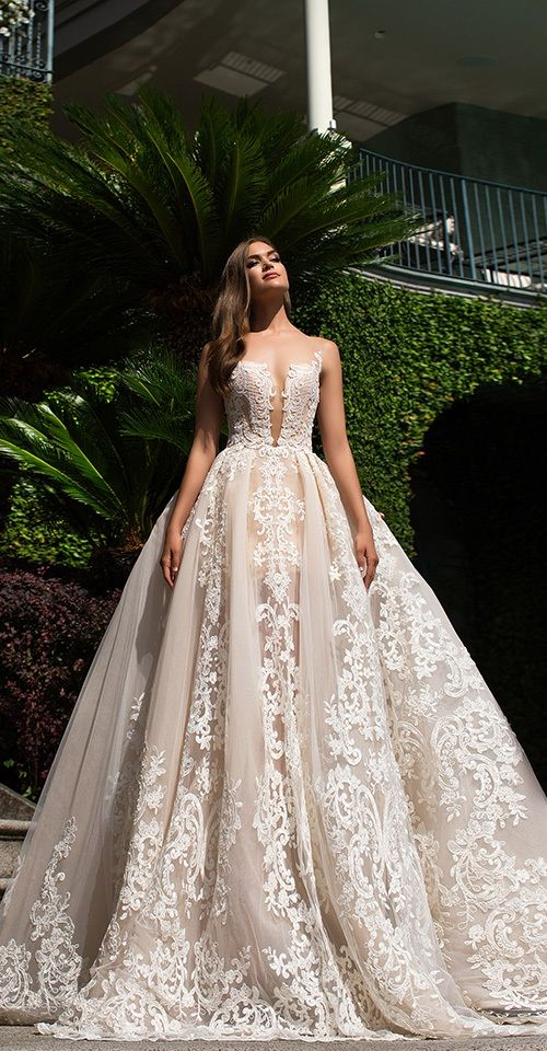 Milla Nova Bridal 2017 Wedding Dresses mirabella / http://www.deerpearlflowers.com/milla-nova-2017-wedding-dresses/19/