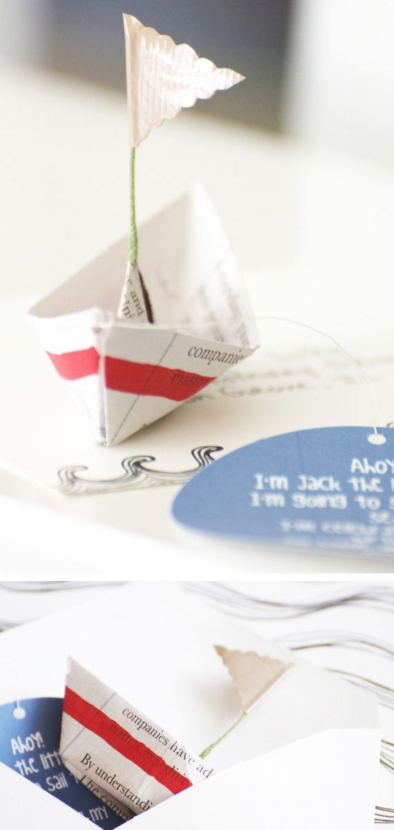 Party sail invites