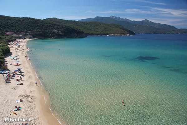 beach of La Biodola