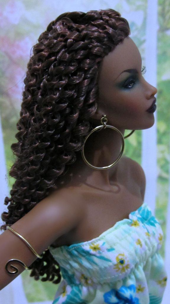 Looks Like Janet Jackson In Poetic Justice Sans Hat Barbie Pinterest Barbie Dolls And