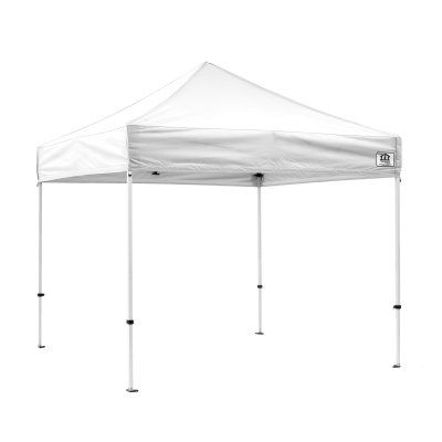 impact canopy ds 10x10 ft ez pop up canopy tent instant beach canopy tent gazebo with roller bag dskitrb - Ez Up Canopy 10x10