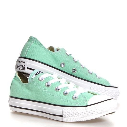 NEW Kids Girls ALL STAR CONVERSE Sneakers Shoes Size 11 Peppermint Mint # Converse #Athletic