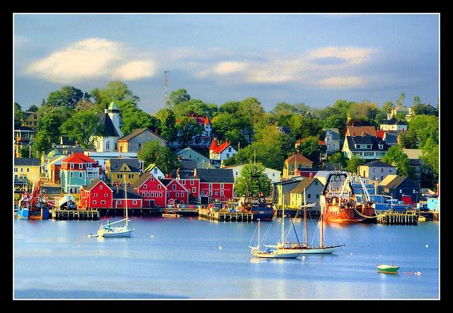 Lunenburg, Nov Scotia (Haven on Syfy)