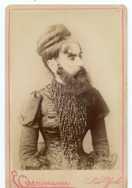 Annie JonesVintage Curio, Circus Sideshow, Circus Attraction, Inspiration, Circus Character, Annie Jones, Beards Woman, American Beards, Night Circus
