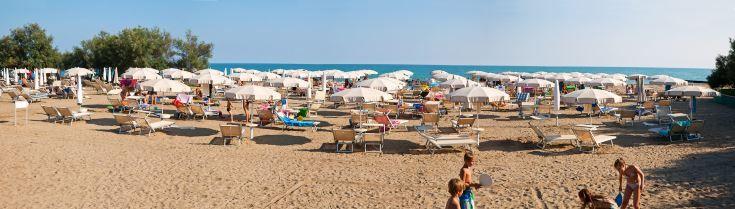 #private #beach in our Villaggio A Mare, #caorle