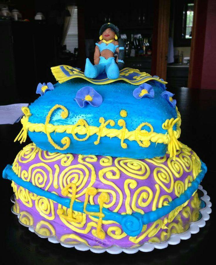 Princess Jasmine Cake Amy S Custom Cakes Etc Princess