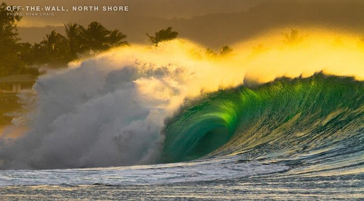Off-The-Wall, North Shore, Oahu, HI by Ryan Craig via F-STOP JULY 2012 | SURFLINE.COM