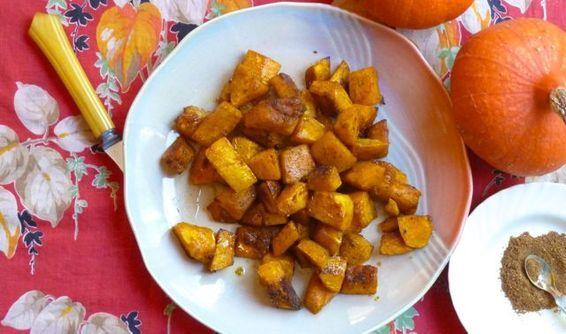 Maple-glazed Spiced Winter Squash   Recipe