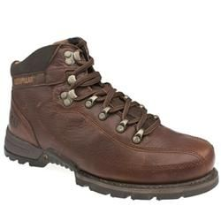 Caterpillar Male Erpillar Akon Leather Upper Casual Boots in Brown, Dark Brown CATERPILLAR Erpillar Akon Casual hiking inspired boot from Caterpillar. Premium leather upper with multiple stitched sections throughout and metal ghillie pieces for the laces. The integrated sole com http://www.comparestoreprices.co.uk/mens-shoes/caterpillar-male-erpillar-akon-leather-upper-casual-boots-in-brown-dark-brown.asp