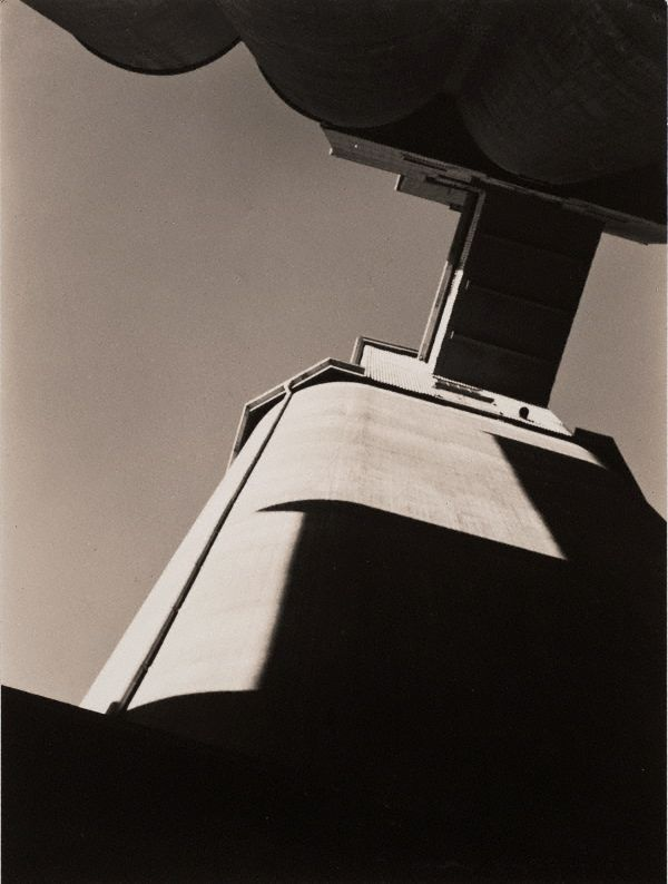 Max Dupain (1911–1992). Pyrmont silos,1933, printed later.