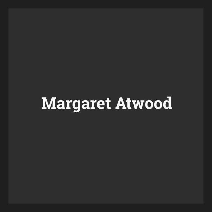 Margaret Atwood: Writing and Subjectivity