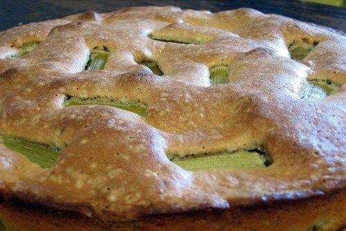 Шарлотка с ревенем рецепт – выпечка и десерты. «Афиша-Еда»
