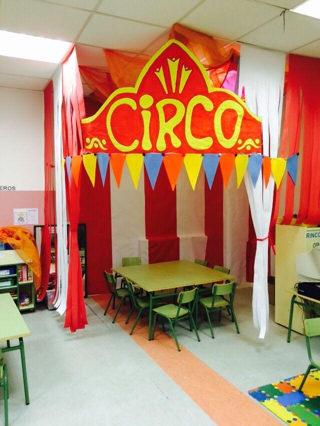 17 mejores im genes sobre proyecto escolar circo en for Decoracion de aulas infantiles