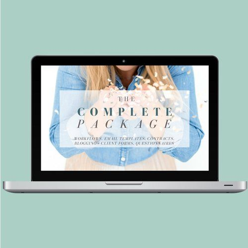 If you are interested in everything Wedding Boss Life offers for templates including the multiple forms and resources listed above, this is the way to go! By purchasing this bundle of all 5 sets of my workflows, forms, contracts, e-mails, questionnaires, and resources, plus per usual Lauren fashion I throw in a whole bunch of goodies like my pricing information, packages, etc.