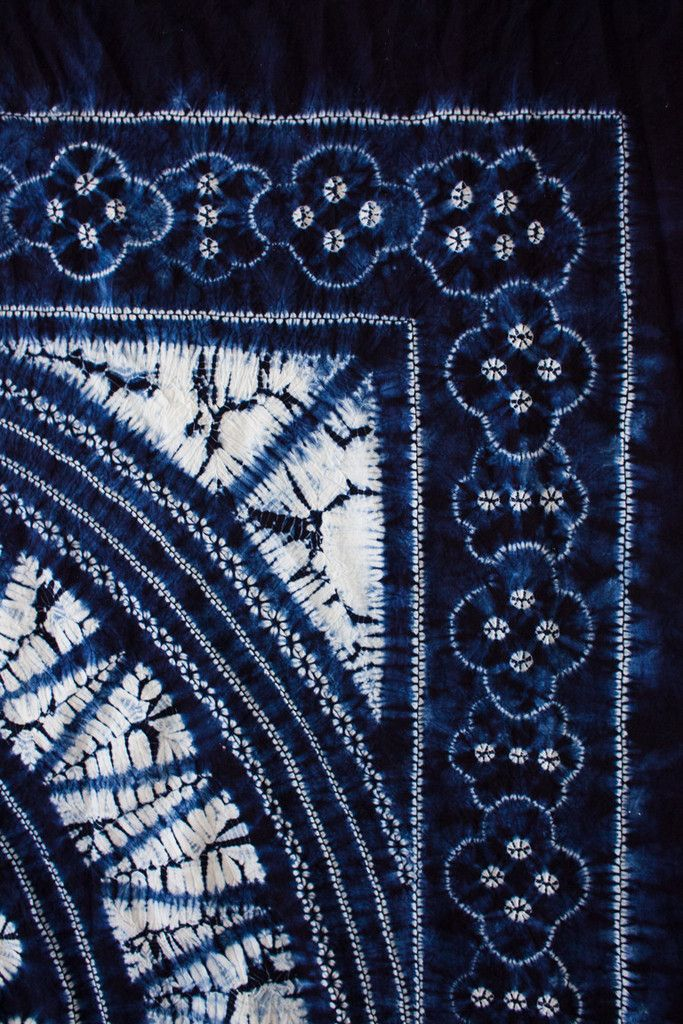 Bai Indigo Shibori - Yunnan Province, China - These Days