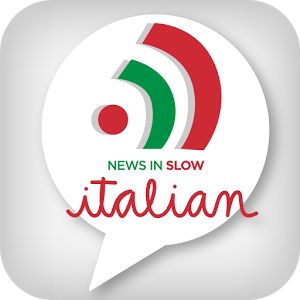 Improve your Italian listening skills with by listening to the news in slow Italian using this app or the website http://www.newsinslowitalian.com/  Transcripts provided