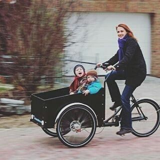 Want you and your children to experience #Copenhagen like a local? Try a Christiania bike. @copenhagenfairytales offer these on their private bike tours. #together