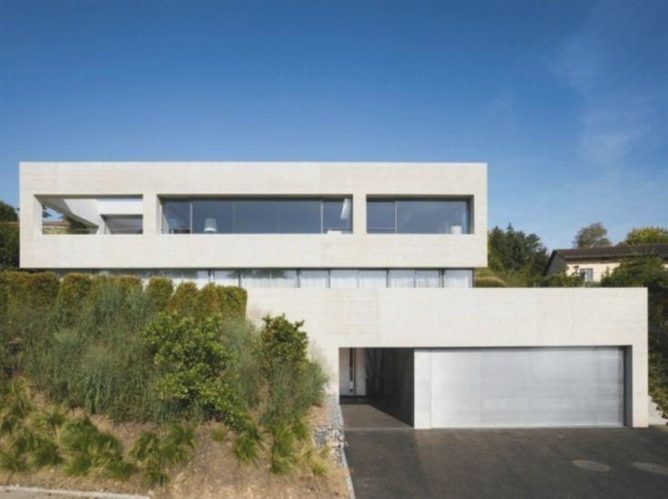 Haus Hanglage Modern Garten Und Bauen | Ifmore