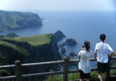 Nishinoshima part of Shimane, Oki Islands (The Western Island)