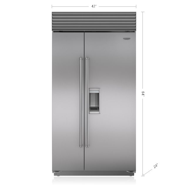 Built In Refrigeration | BI-42SD/S | Sub-Zero & Wolf