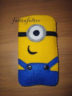 Fanta Feltro - www.fantafeltro.it: Portacellulare Minions