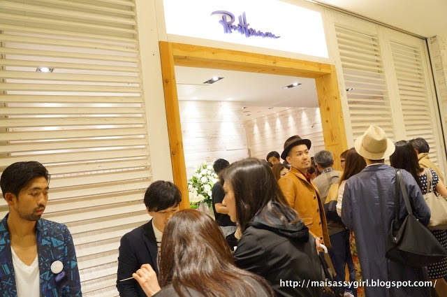 Just another Typical Night in Tokyo: RON HERMAN ROPPONGI MIDTOWN SHOP OPENING PARTY REPORT 4.24.2013
