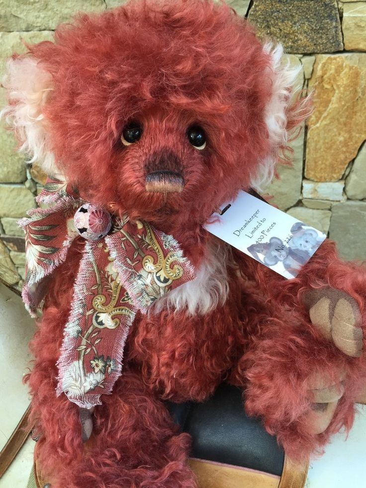 Dreamkeeper Charlie Bears Isabelle Lee Collection Mohair Bear