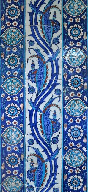 Tiles from the past. Rustem Pasha Mosque. Istanbul by 1CheekyChimp, via Flickr:
