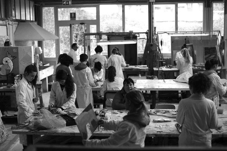 Laboratorio artistico. Liceo artistico statale Stagi di Pietrasanta. ph. valentinaramacciotti.com.