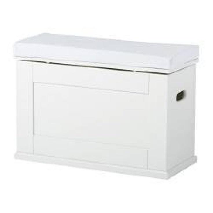 BAUL BLANCO DE IKEA Serie ALVE. Creo que está descatalogado :(