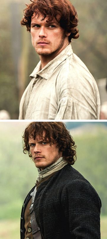 The Evolution of Jamie Fraser Source:thesassenach