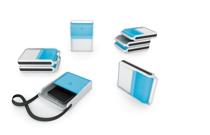 Can.Go  MOBICA+ Can.Go, een mobiele opslagruimte te gebruiken als lade en/-of cross-over van PLAN@OFFICE ontworpen door MOBICA+ door Martin Ballendat.