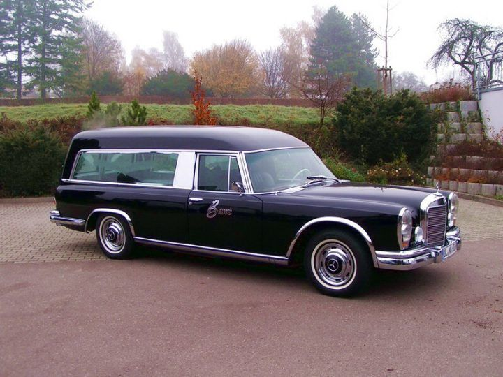 Mercedes hearse german classic cars pinterest for Used mercedes benz hearse for sale