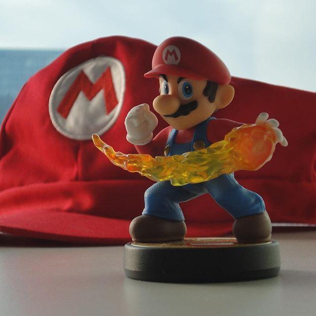 Celebrando el aniversario número 30 de Super Mario!! ______________________________________ #amiibo #Nintendo #NintendoRegram #nintendolife #igersnintendo #NewNintendo3DS #nintendoJC #igersnintendo #videogames #clubnintendo #games by nintendojc