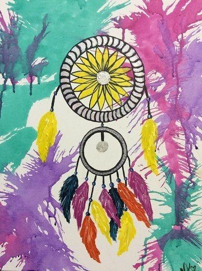"""Dreams"" by Nicky Korneliussen. Paintings for Sale. Bluethumb - Online Art Gallery"
