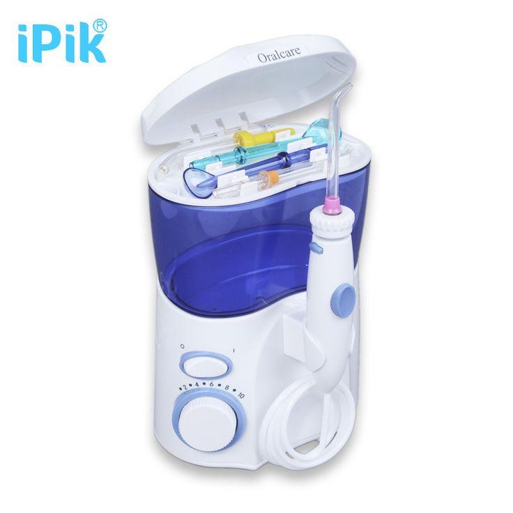 iPik Dental Water Flosser Oral Irrigator 10Tip Waterpick Dental Floss Water Irrigation Jet Dental Tooth Floss Water Floss Pick