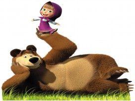 Masha and the Bear HD Wallpaper for iPad Air 2 Cartoons Wallpapers