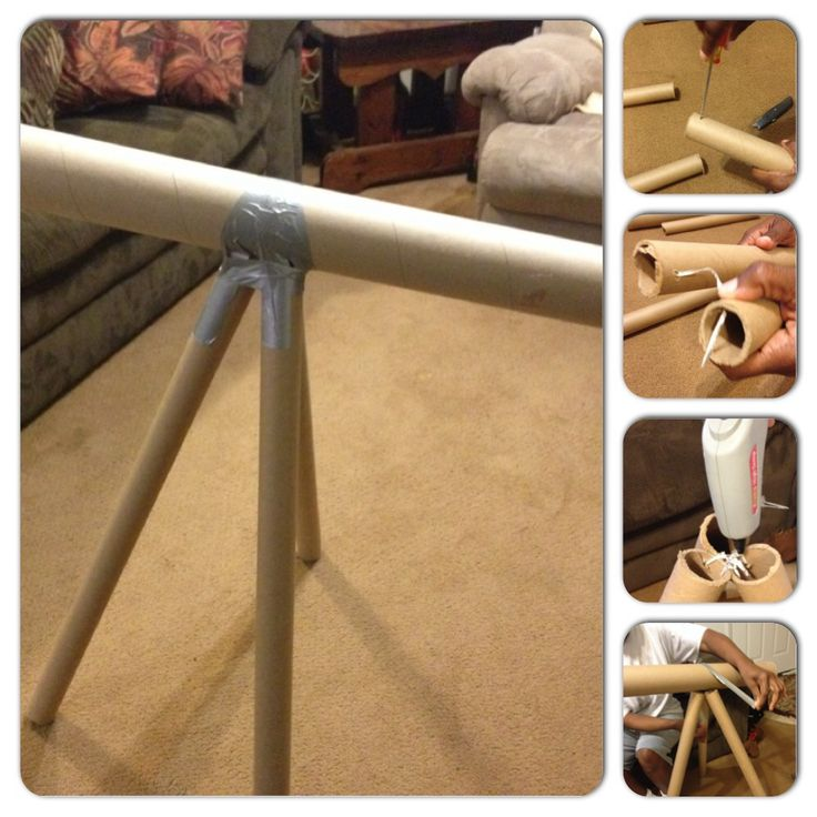 how to make a telescope out of cardboard tubes