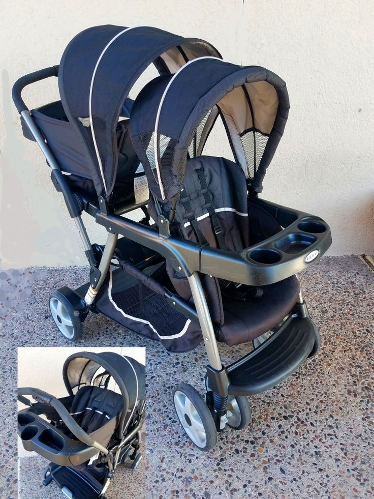 Graco infant & toddler stroller sit n stand also