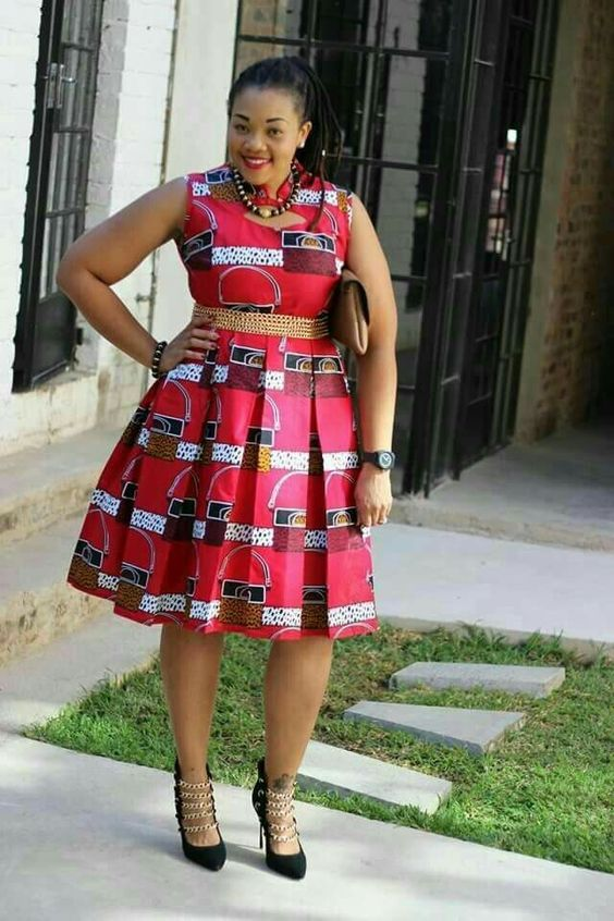 e56bcd5c3a2 Ankara Xclusive  Short African Dresses 2018   Recent African Dresses  Collection