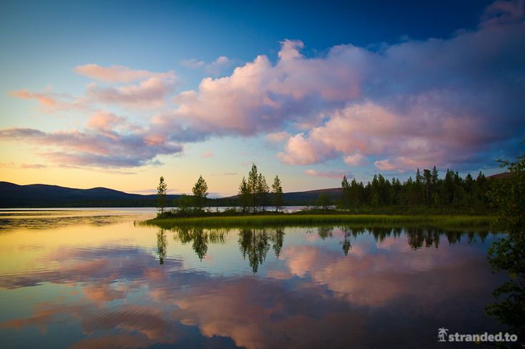 Lapland Endless Daylight by Joonas Gebhard, via 500px