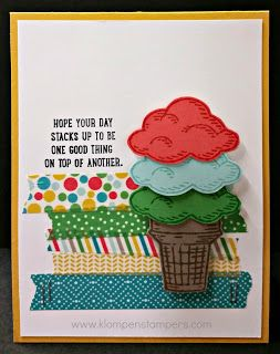 Stampin' Up! Sprinkles of Life Card - Klompen Stampers (Stampin' Up! Demonstrator Jackie Bolhuis): Why So Many????