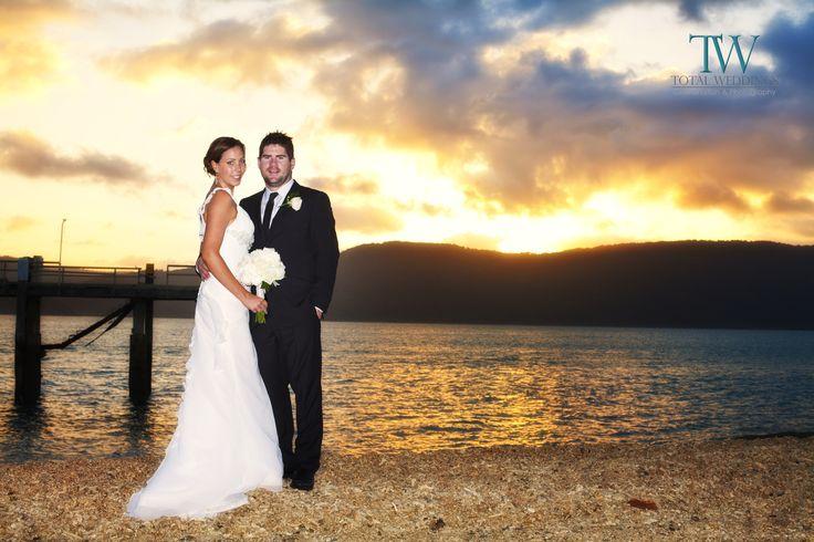 Whitsunday Weddings Sunset