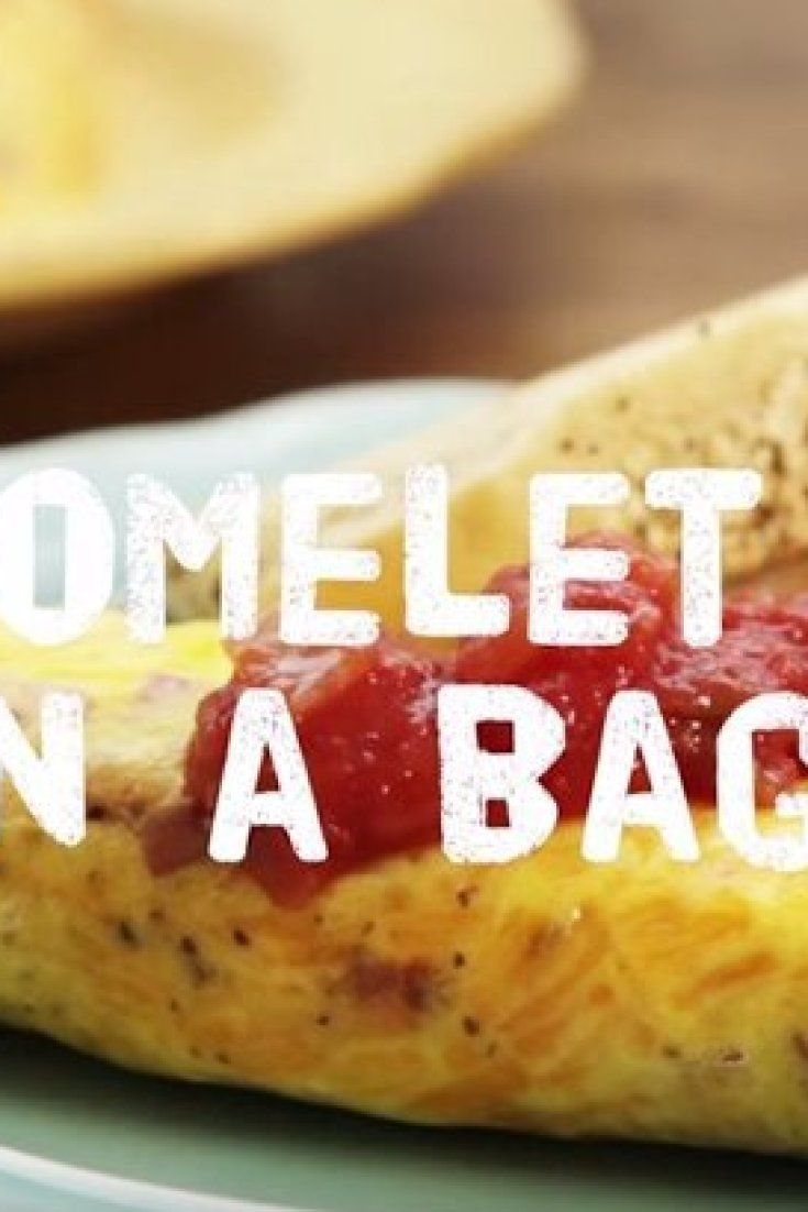 How To Cook An Omelette In A Sandwich Bag (And Make Zero Mess)