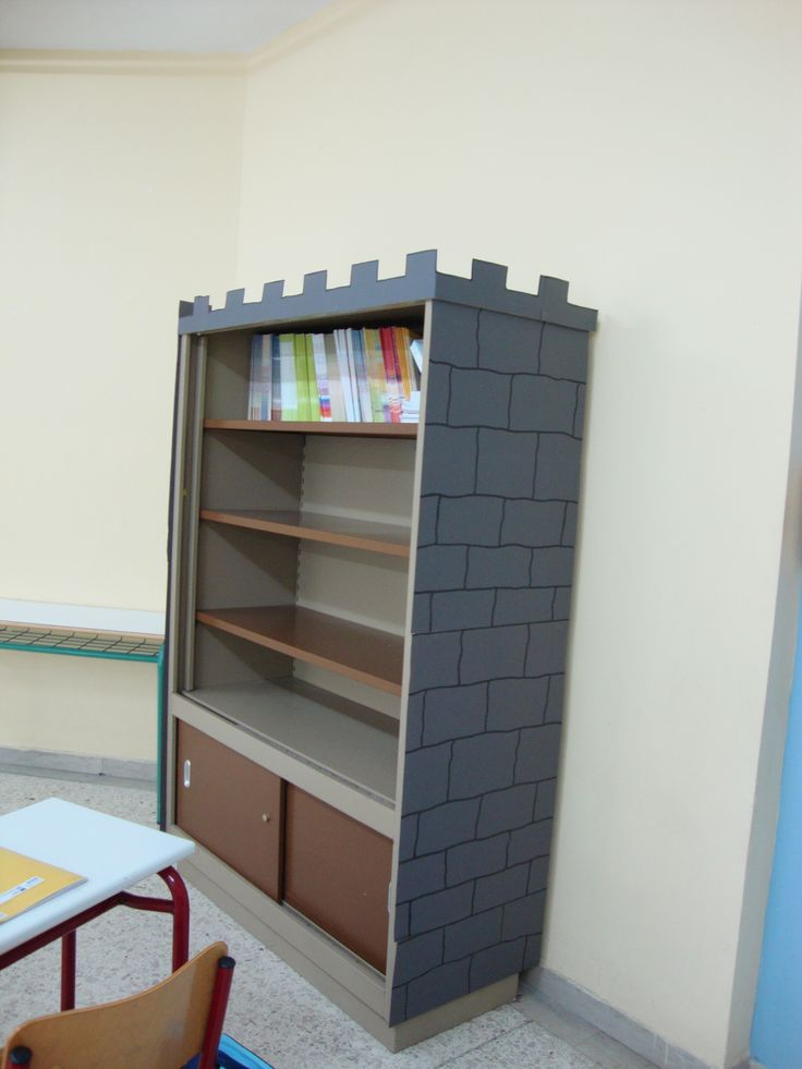 διακόσμηση βιβλιοθήκης