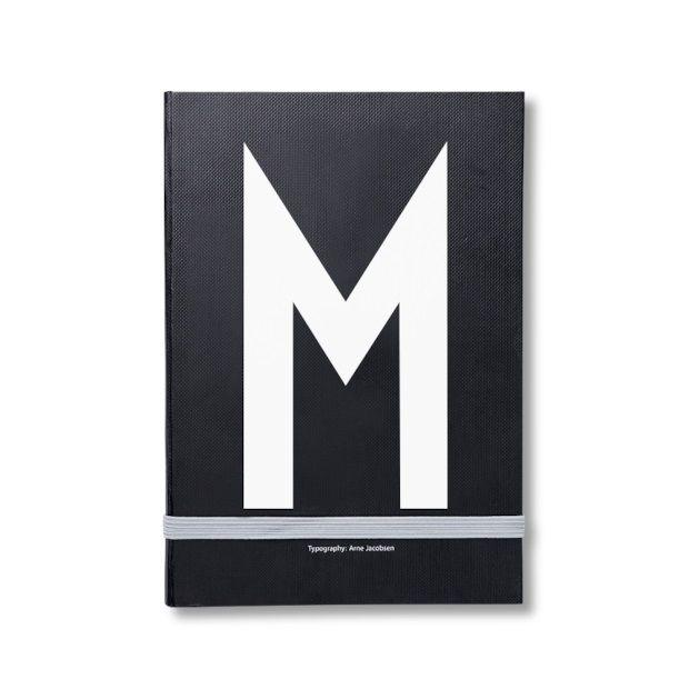 Design Letters Notitieboek - M - afbeelding 1