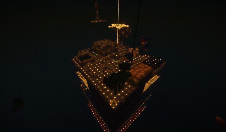 Una delle tantissime isole su skyblock. L'isola di lordsenion, espandi l'isola... costruisci!