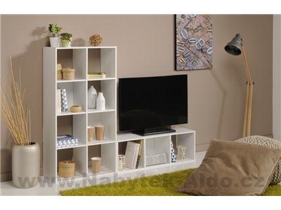 Regály do obývacího pokoje Kubikub 805001-9